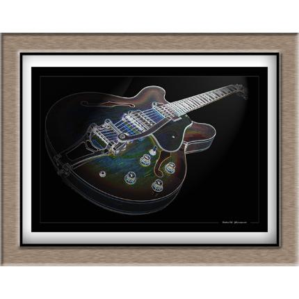 Créations graphiques guitares et instruments divers