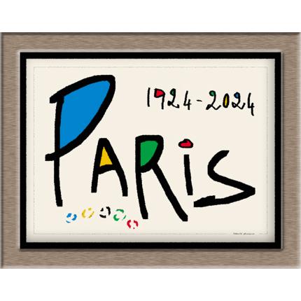 Créations graphiques Les Jeux Olympiques Paris & France 2024