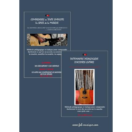 PACK guide de musique & dictionnaire d'accords guitare